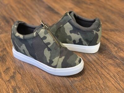 Camo Hidden Sneaker
