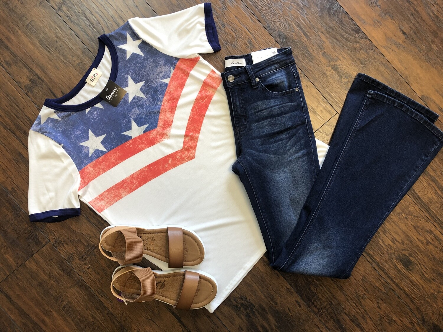 Stars and Stripes Short sleeve top