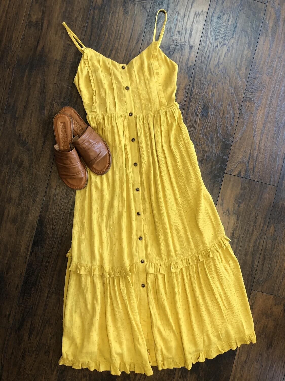 Minky Dot Midi Dress