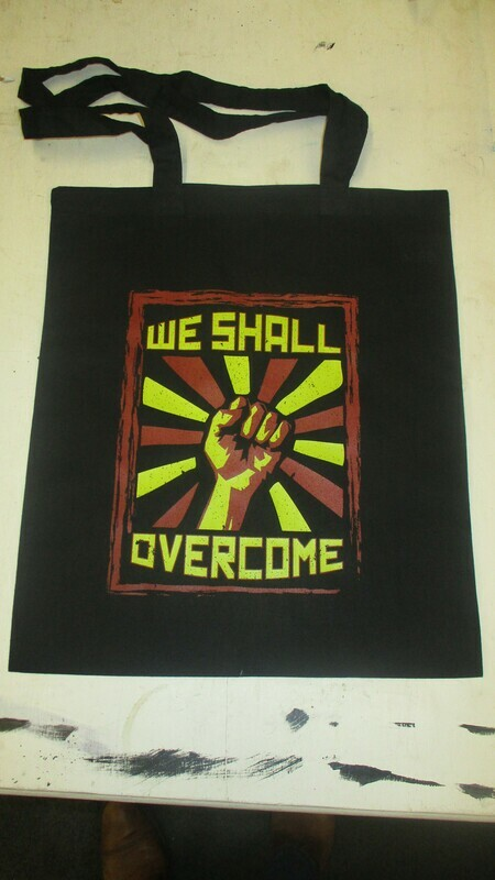 We Shall Overcome Tote Bags
