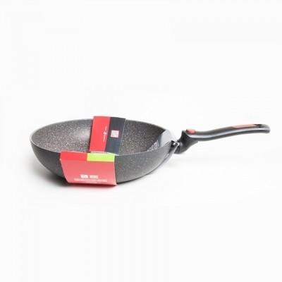 Сковорода Вок Moneta антипригарная со складной ручкой Facile, 28 см, индукция, арт. M6154328