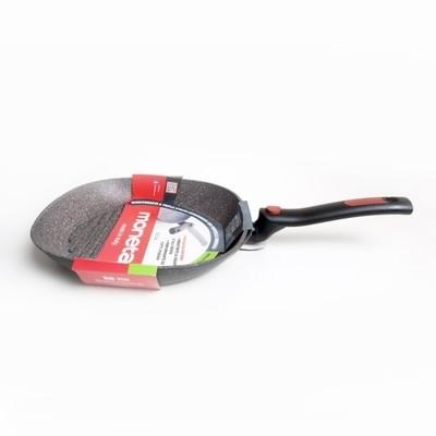 Сковорода-гриль Moneta антипригарная со складной ручкой Facile, 28 см, индукция, арт. M6151428