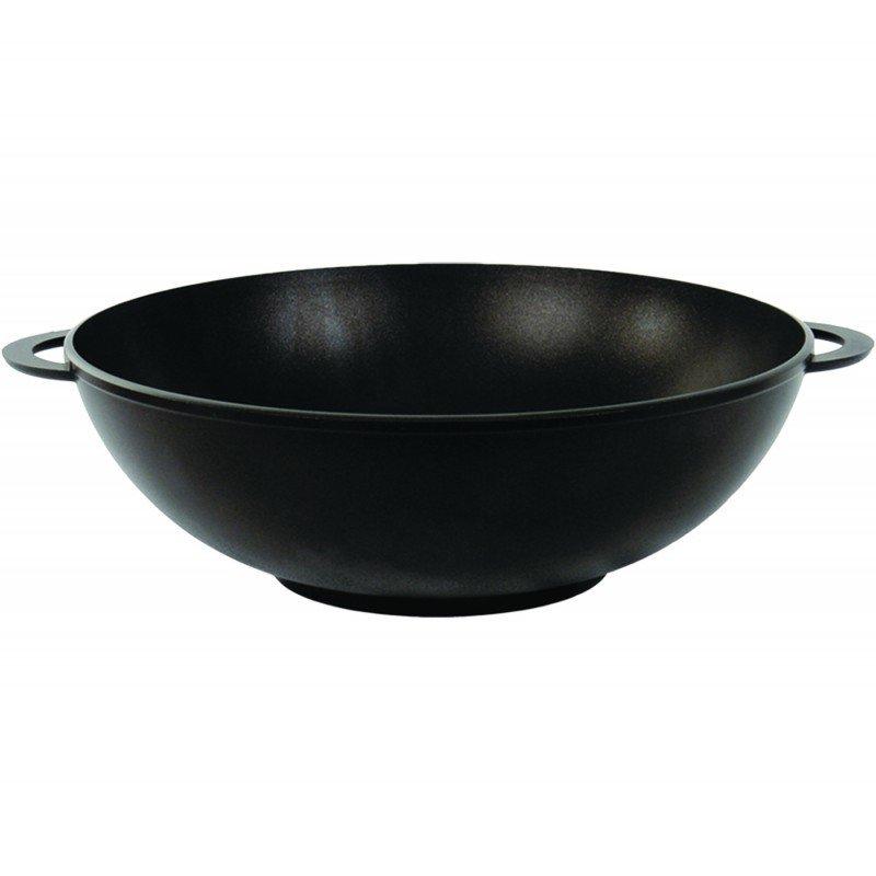 Сковорода Вок, с ручками, без крышки, 32 см., арт. 3203П