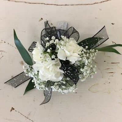Three Mini Carnation Corsage