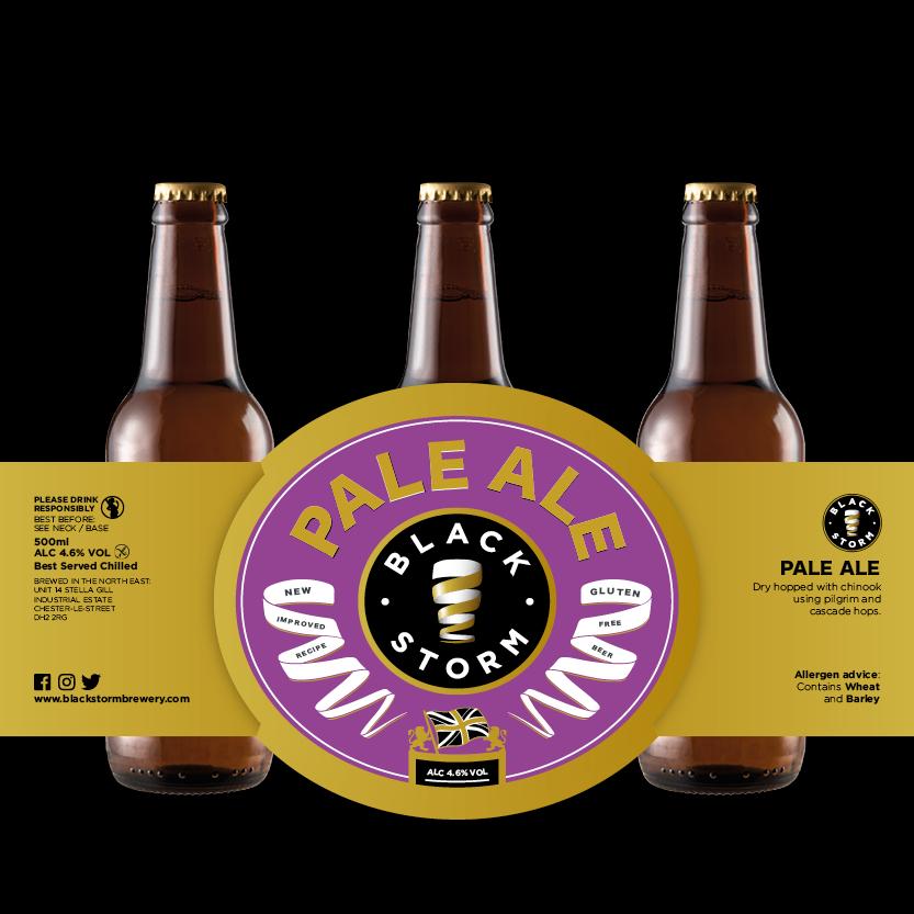 x3 bottles - PALE ALE