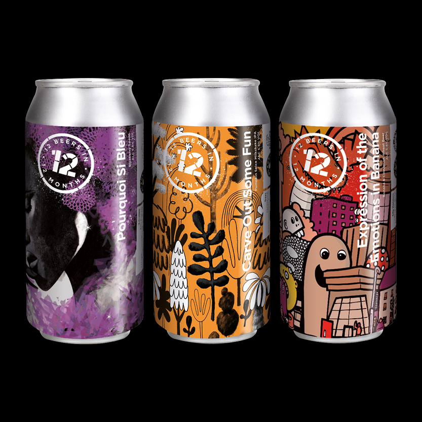 12 beers collaborative 3 pack