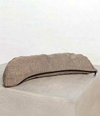 Half moon yoga pillow