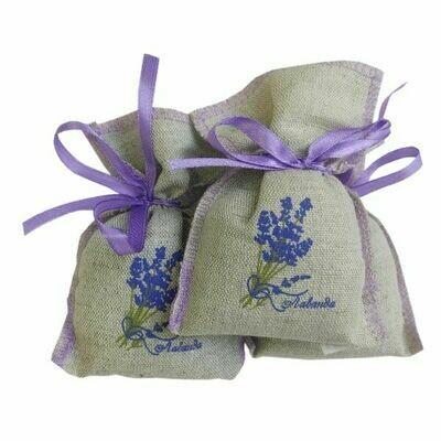 Sachet with lavender (3 pieces)