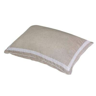 Pillow for sleeping with orthopedic effect