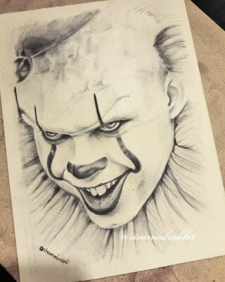 Pennywise Tattoo Portrait