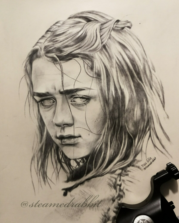 Arya Tattoo Portrait