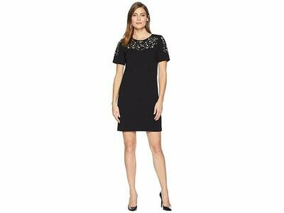 Calvin Klein Embroidery Sheath Dress 2P