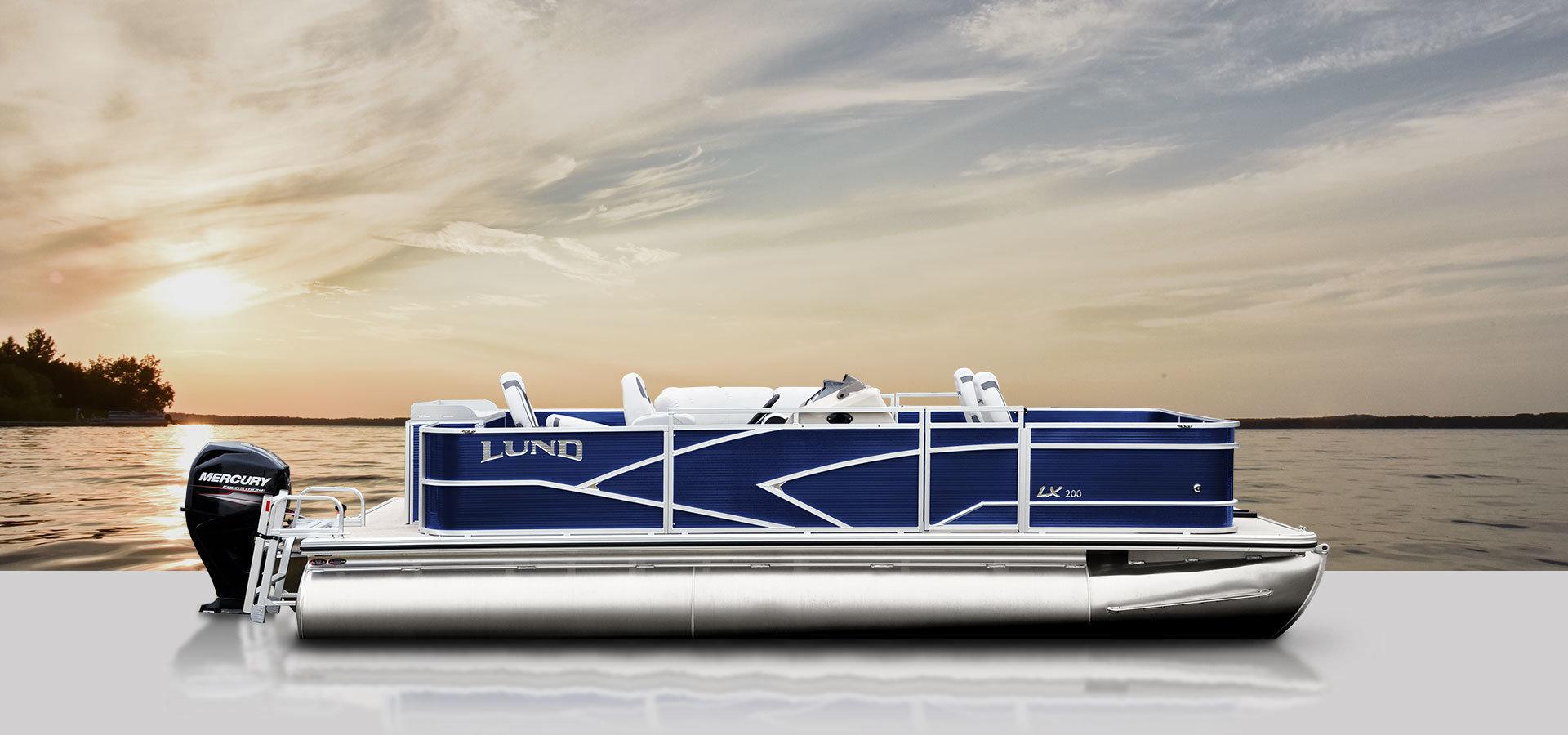 Lund LX200 Fishing Pontoon Boat 00268