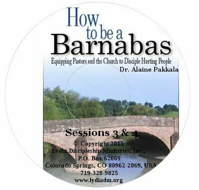 How to be a Barnabas - Part #4 of the DVD set -