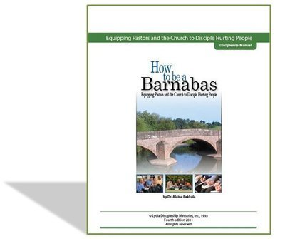 How To Be A Barnabas, Discipleship Manual - by Alaine Pakkala, Ph.D.