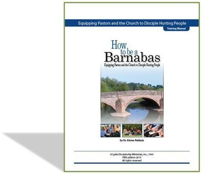 How To Be A Barnabas, Training Manual - by Alaine Pakkala, Ph.D.