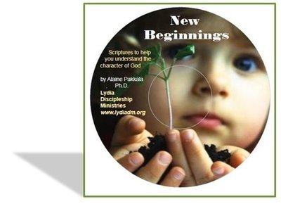 New Beginnings, MP3 - Scripture read w/piano accompaniment by Alaine Pakkala, Ph.D.