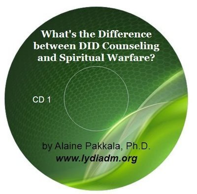 What's the Difference between DID Counseling and Spiritual Warfare? MP3 by Alaine Pakkala, Ph.D.