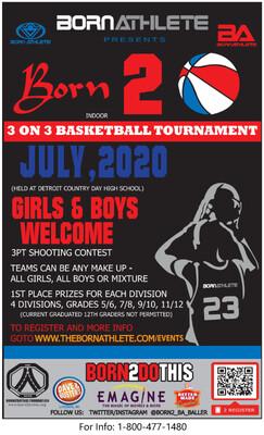 3 on 3 Basketball Tournament Registration