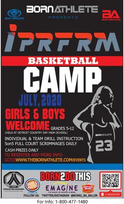 IPRFRM  Basketball Camp Registration