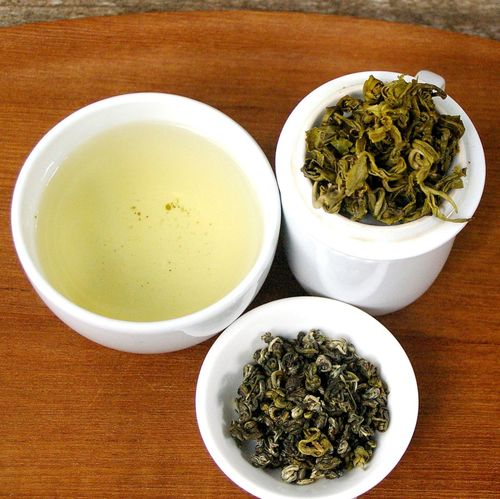 Organic Wu Liang Mountain Bi Luo Chun Green Tea 50g