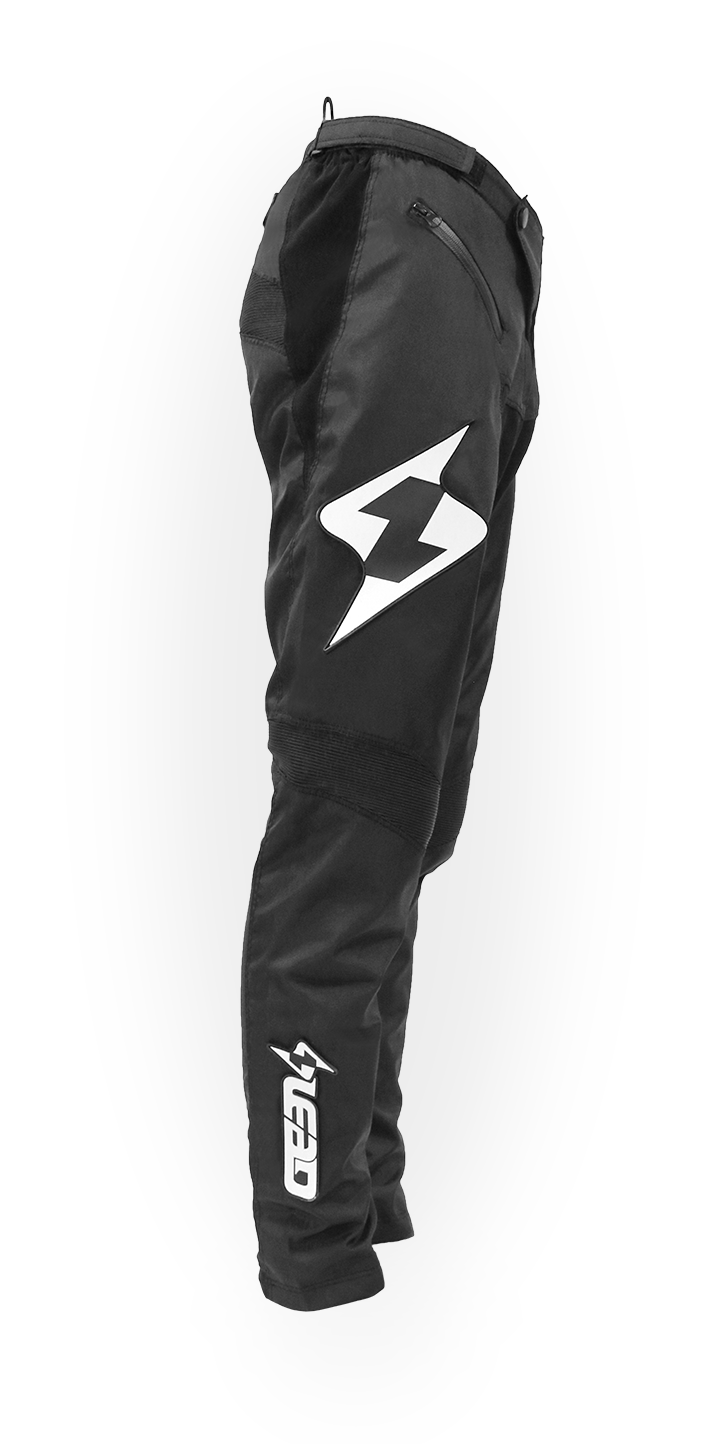 Lead Race Pants Black/White