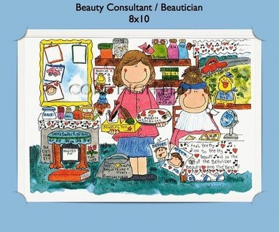 Beauty Consultant  - Personalized Cartoon Gift