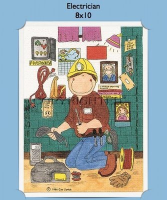Electrician - Personalized Cartoon Gift