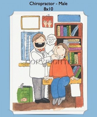 Chiropractor - Personalized Cartoon Gift