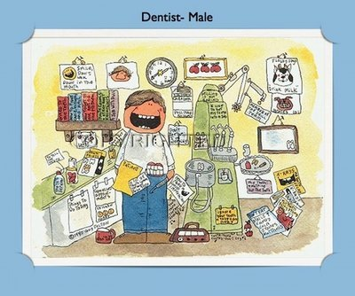 Dentist - Personalized Cartoon Gift