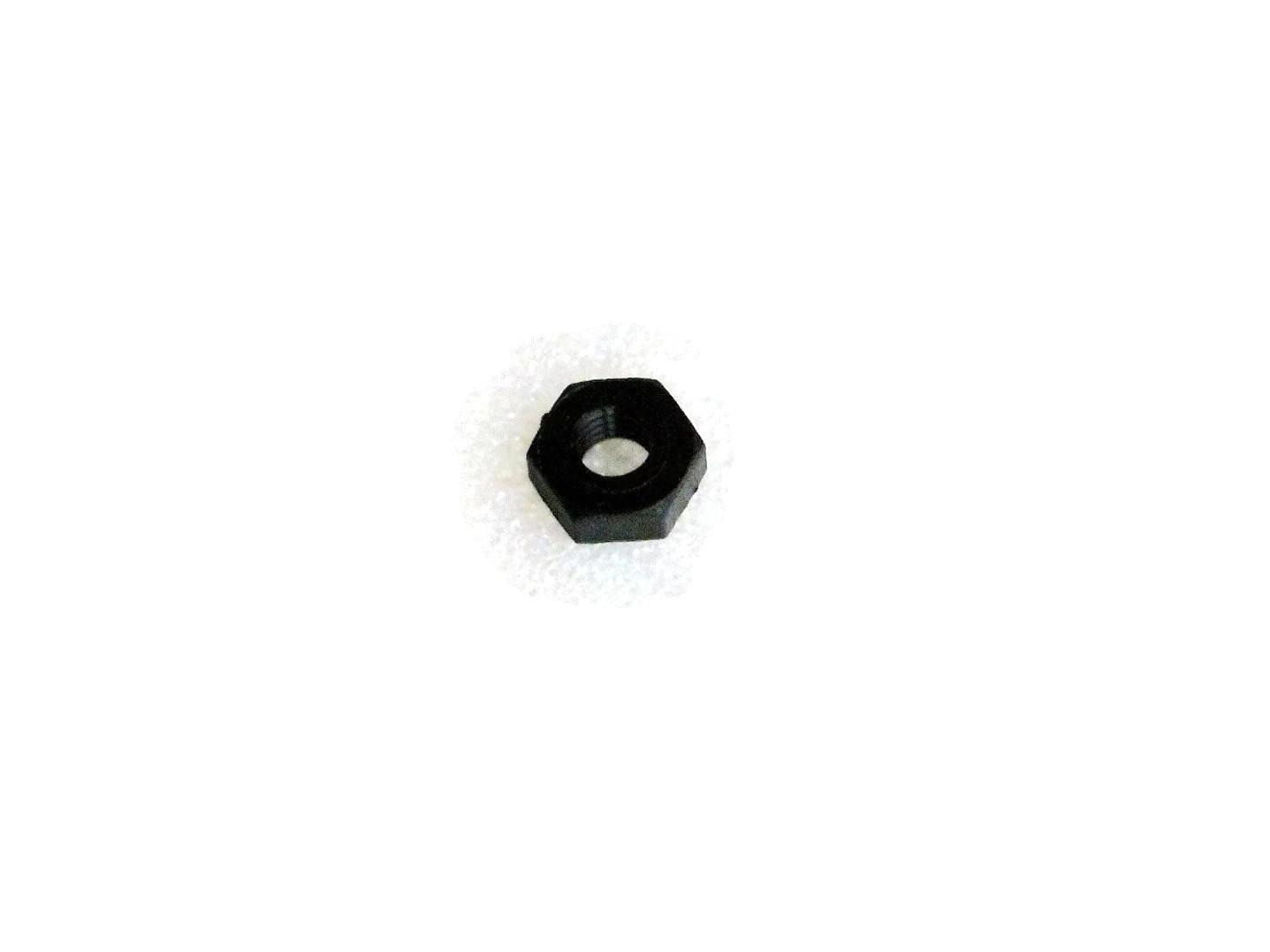 Kunststoffmuttern M3 Schwarz (10 Stück)