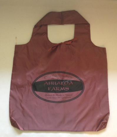 Ahualoa Farms Reusable Shopping Bag