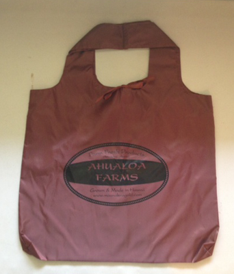 Ahualoa Farms Reusable Shopping Bag