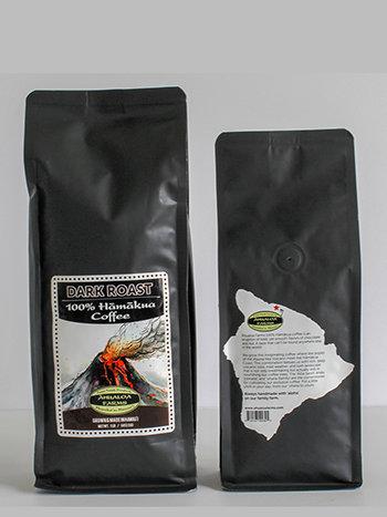 100% Hamakua Dark Roast Coffee Beans 00016