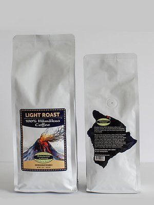 100% Hamakua Coffee Light Roast Coffee Beans