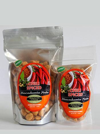 Chili Spiced Macadamia Nuts