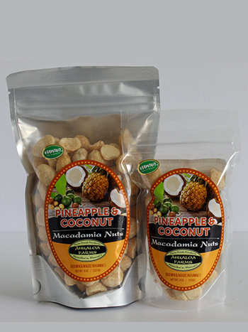 Pineapple & Coconut Macadamia Nuts 00112