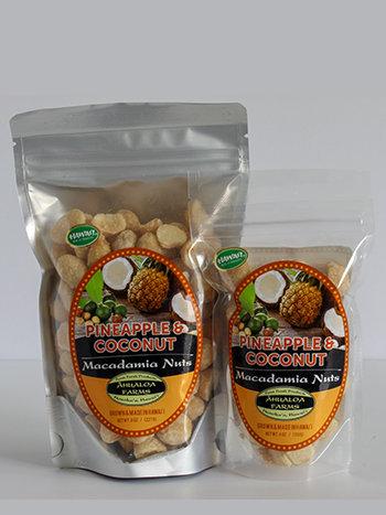 Pineapple & Coconut Macadamia Nuts