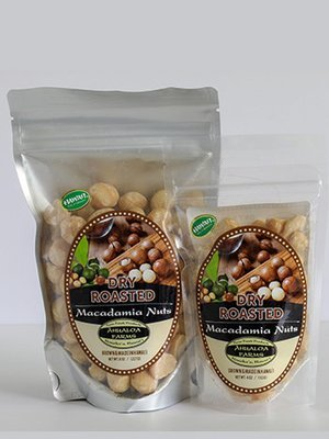 Dry Roasted Macadamia Nuts