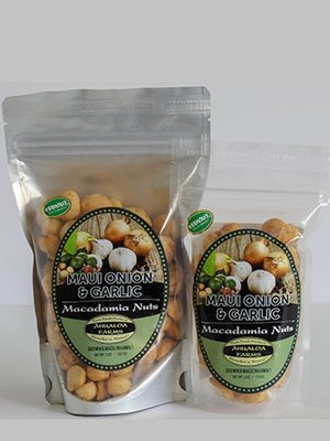 Maui Onion & Garlic Macadamia Nuts