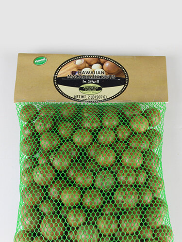 Hawaii Macadamia Nuts in Shell 00155