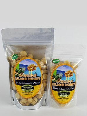 Hawaiian Island Honey Macadamia Nuts