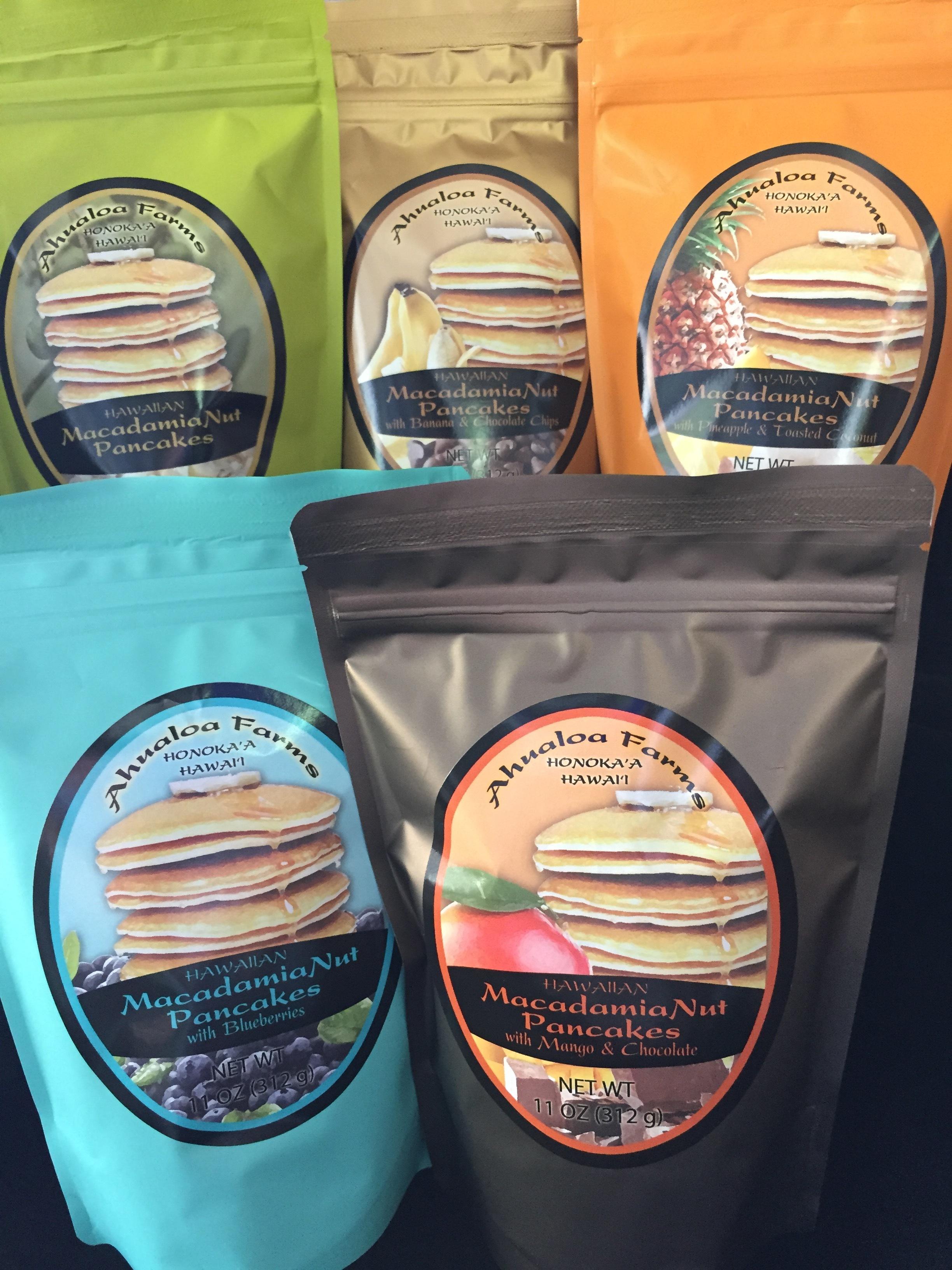 Hawaiian Macadamia Nut Pancake Mixes 00126