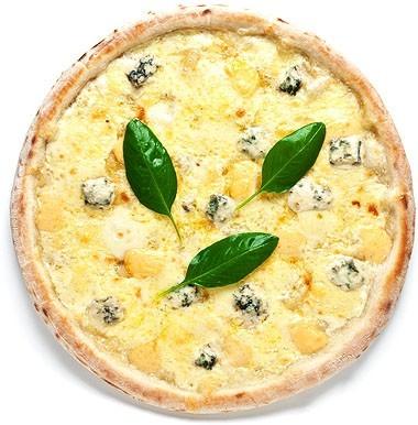 Четыре сыра   ∅ 33 см. - 450 р. /  ∅ 43 см. - 590 р.