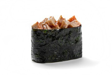 Острые суши с угрем
