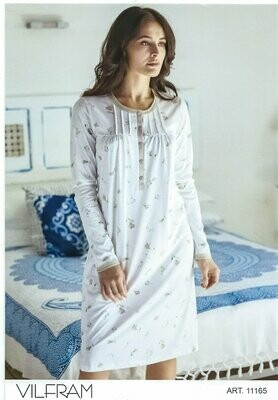 Linclalor Camicia da Notte Puro Cotone Art 73613
