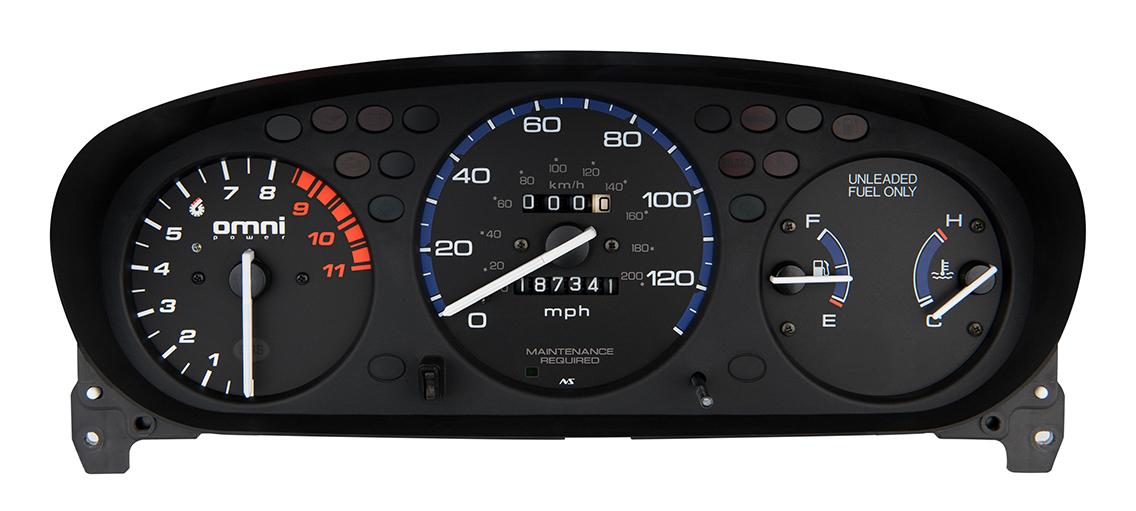 Honda EK 8500 RPM Tachometer With Adjustable Shift Light TACH-8500-EK