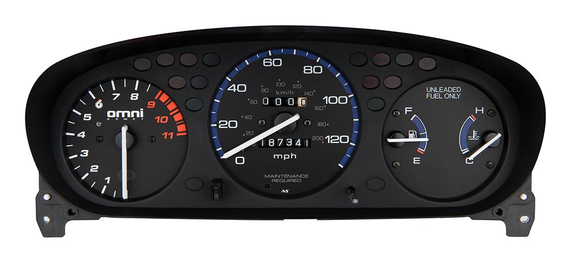 Honda EK 9000 RPM Tachometer With Adjustable Shift Light TACH-9000-EK