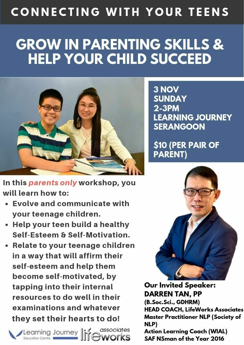 Parenting Seminar: Connecting with your teens