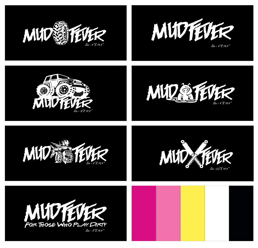 Mudfever Vinyl Decal